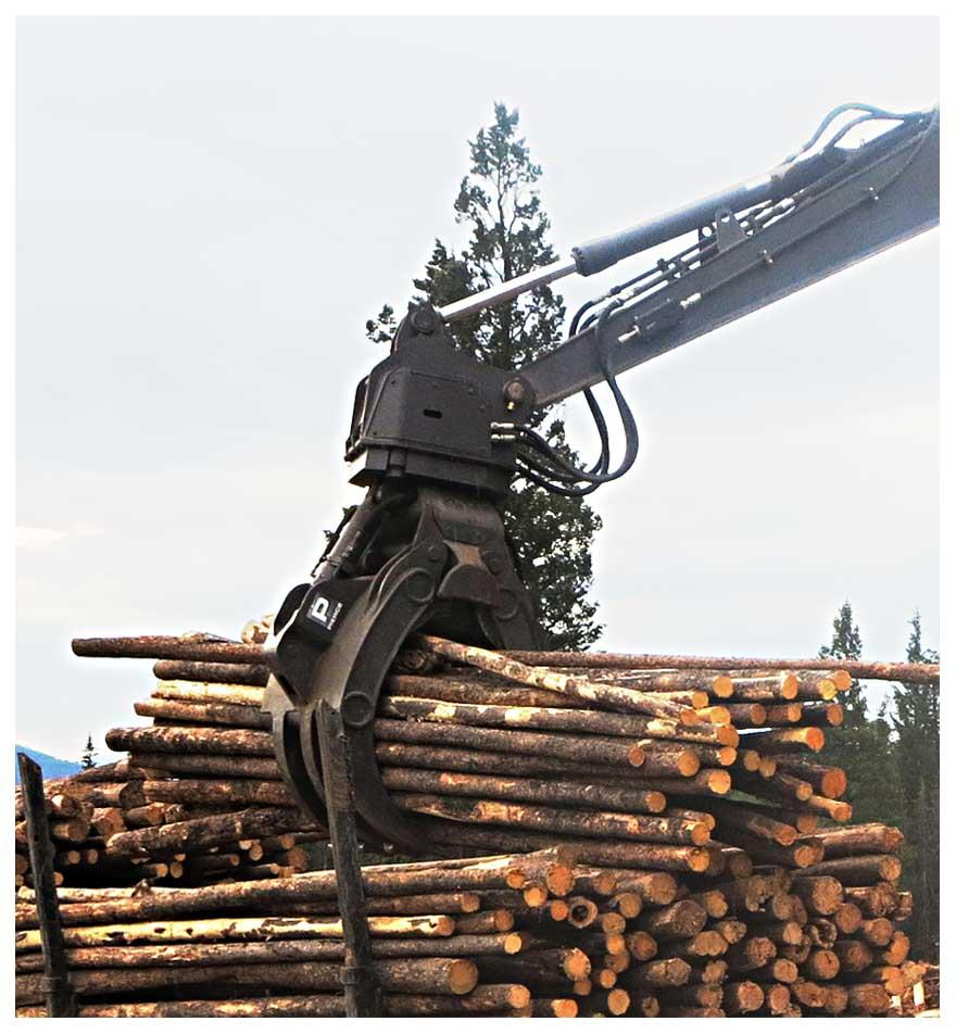 Pierce Forestry Power Grapple