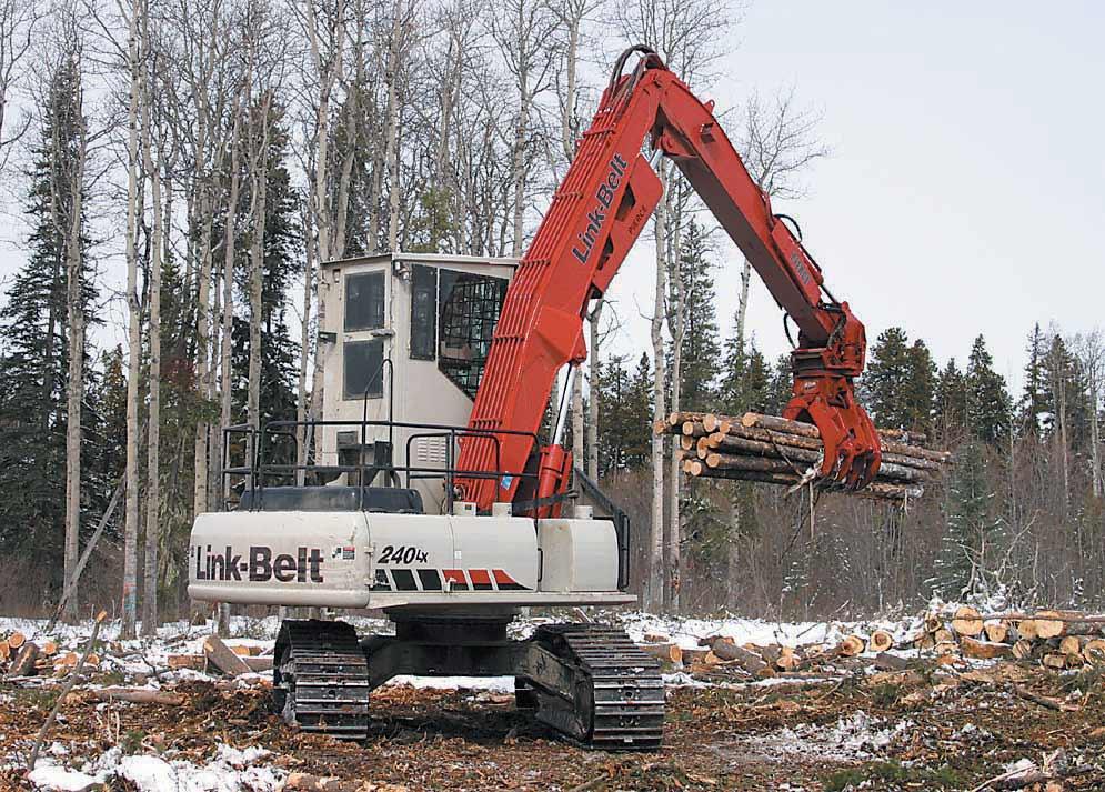 Pierce Butt N Top Forestry Boom - Straight Main Boom