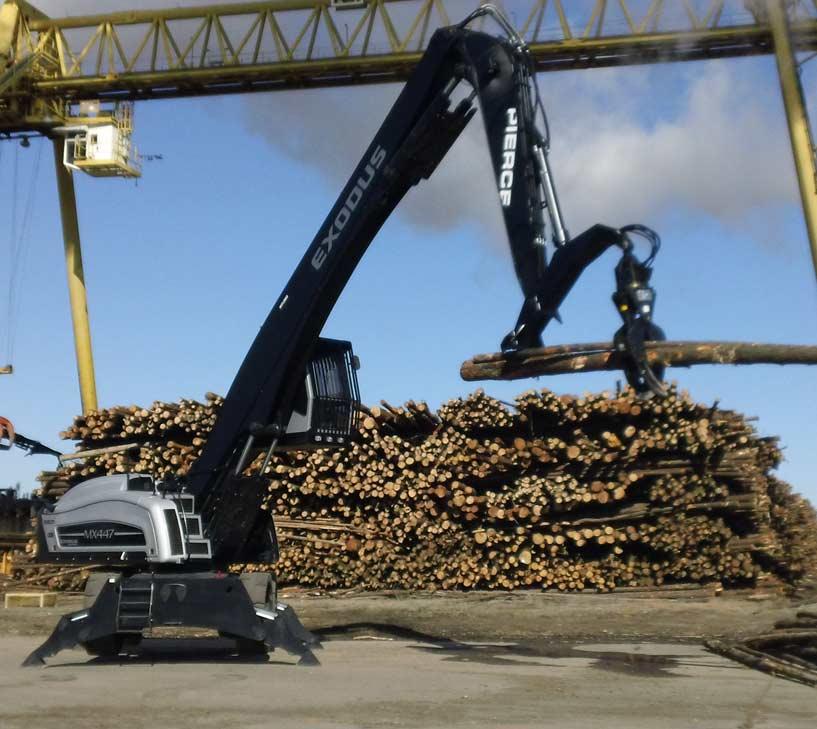 Pierce Custom Forestry Booms