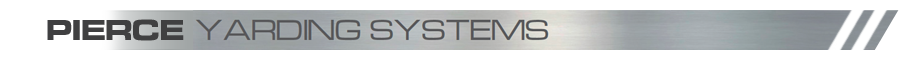 Pierce Steep Slope Yarding Systems