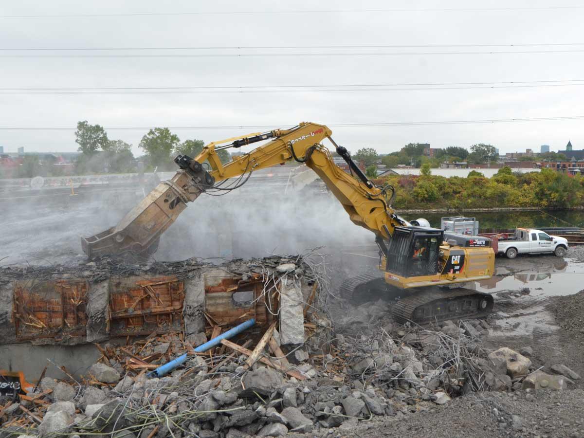 Pierce L.E.X. Demolition Fronts