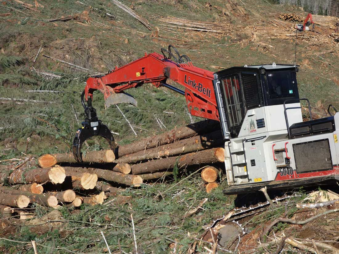 Pierce Forestry Grapples